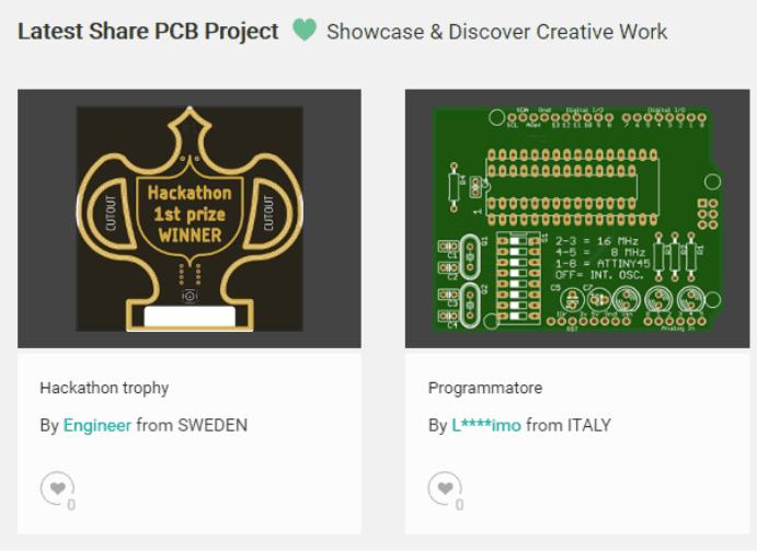 Zgłoszone projekty