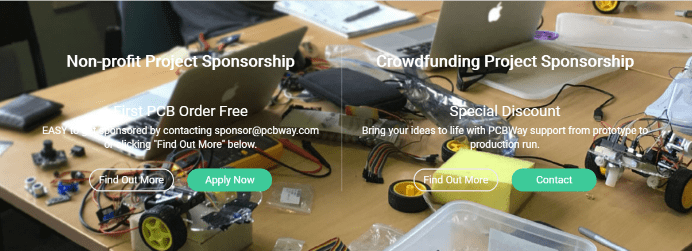 Program sponsoringu PCBWay