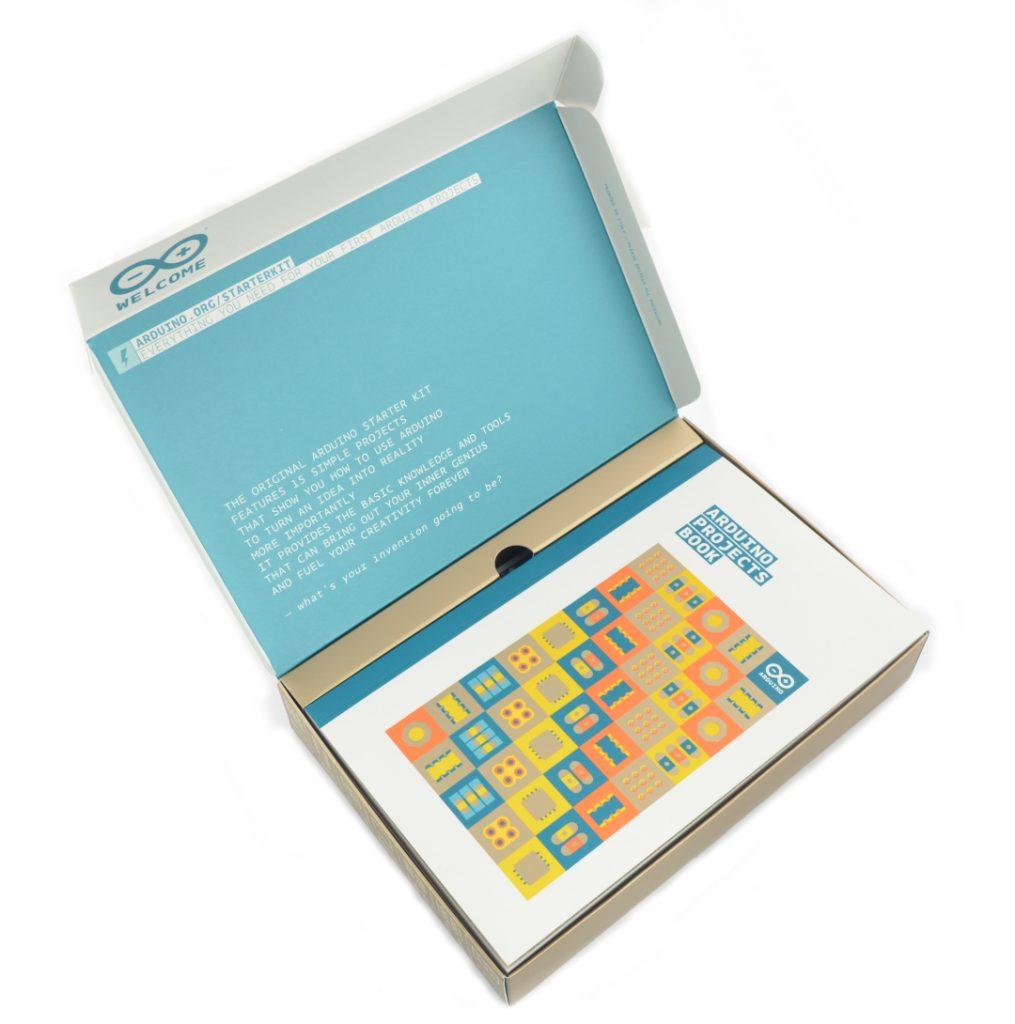 Arduino StarterKit K000007 - oficjalny zestaw startowy z płytką Arduino Uno