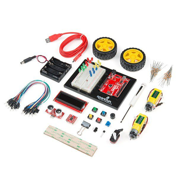 Inventor's Kit - v4.0 + książka - SparkFun KIT-14265