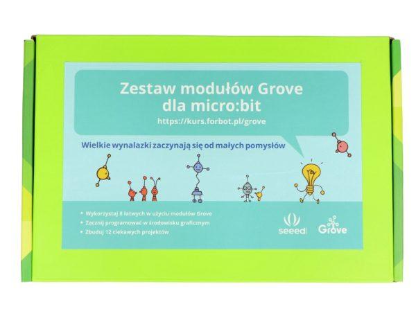 BBC micro:bit Grove Inventor Kit PL - zestaw wynalazcy (projekty) + kurs FORBOT