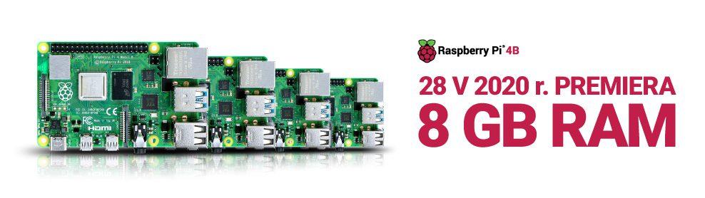 Premiera RPi 8 GB 2020