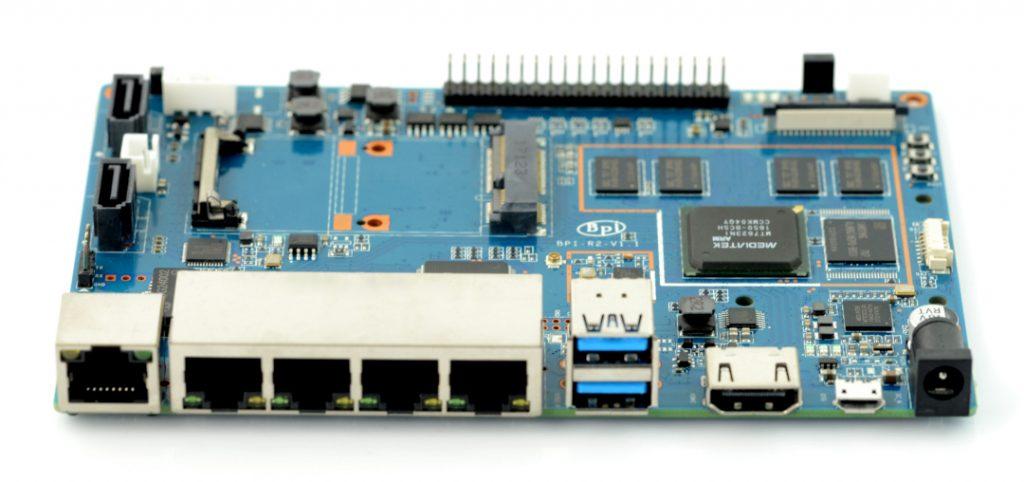 Banana Pi R2 Router Quad Core