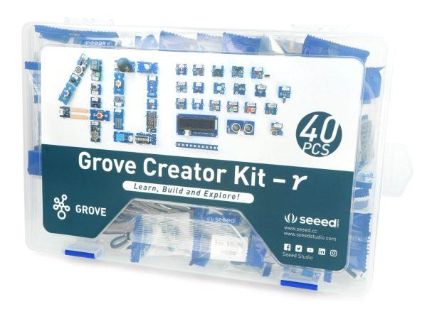 Grove Creator Kit Gamma zestaw 40 modułów Grove dla Arduino