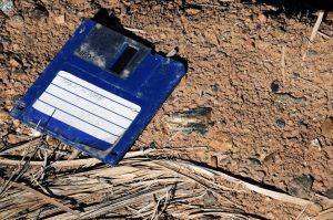 Stara dyskietka floppy disk