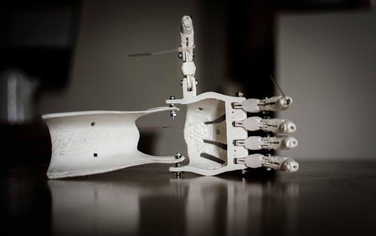 Proteza ręki druk 3D
