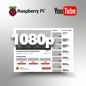 Raspberry Pi YouTube 1080p