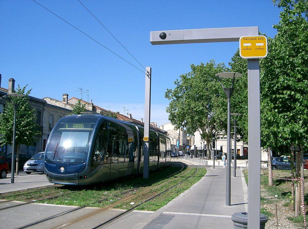 CCTV komunikacja miejska Bordeaux