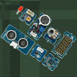 Elementy i moduły zestawu Grove Invention Kit