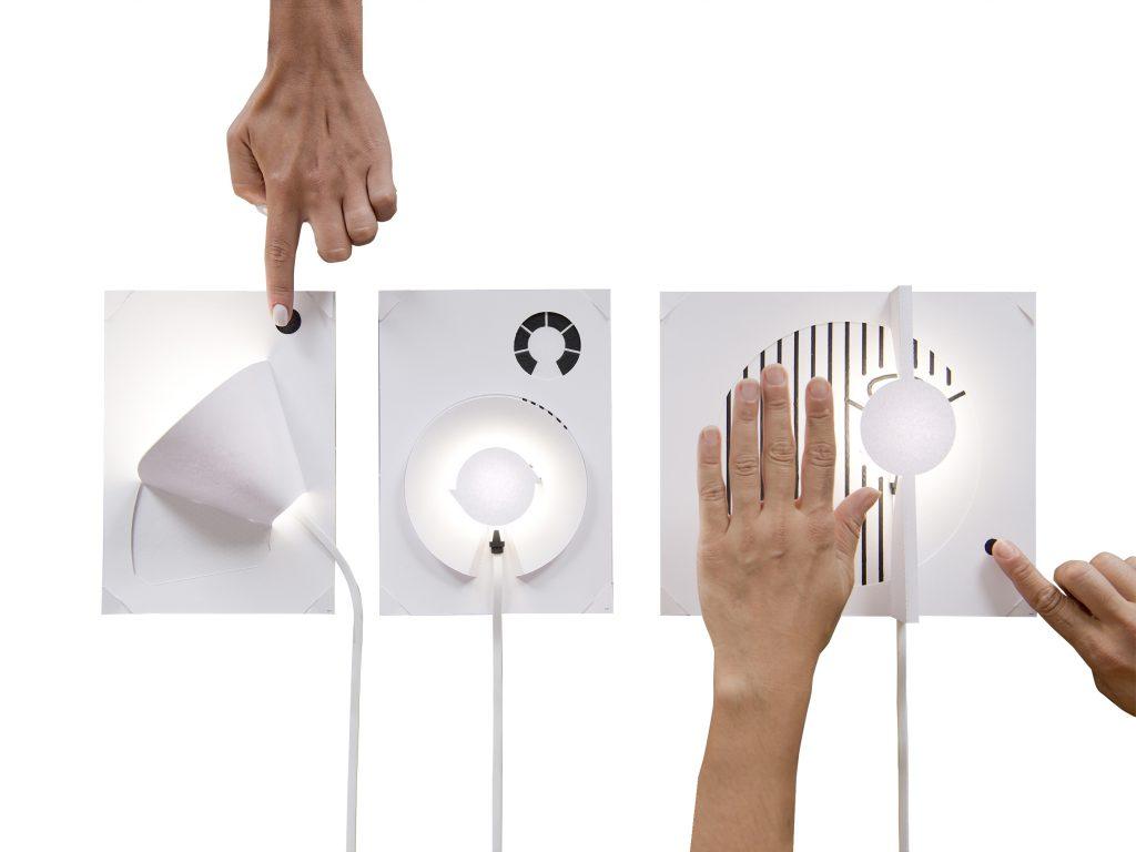 lampy dekoracyjne Bare Conductive