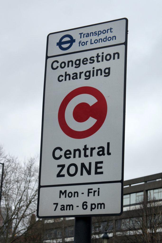 Londyn kontrola CCTV