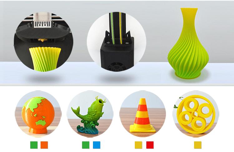 MakerPi - druk wielokolorowy 3D