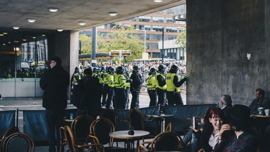 Zamieszki w Manchesterze - Manchester 2011