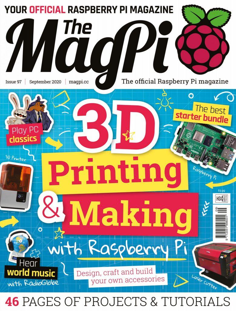 Magazyn MagPi Raspberry wrzesień 2020