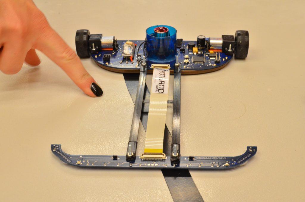 Firma Botland historia robot linefollower