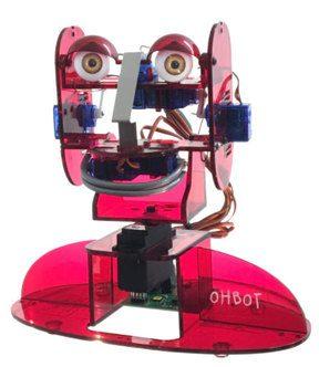 Robot Ohbot dla Raspberry Pi
