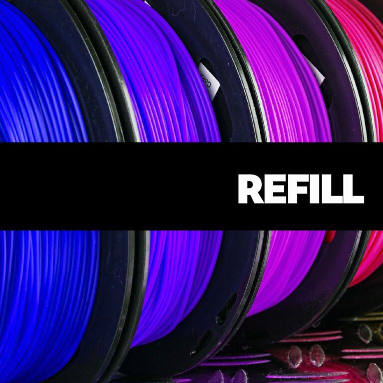 Filamenty refill