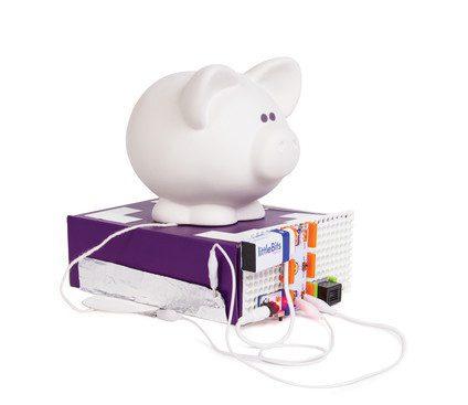 Zestaw LittleBits - zabawki i roboty edukacyjne dla dzieci