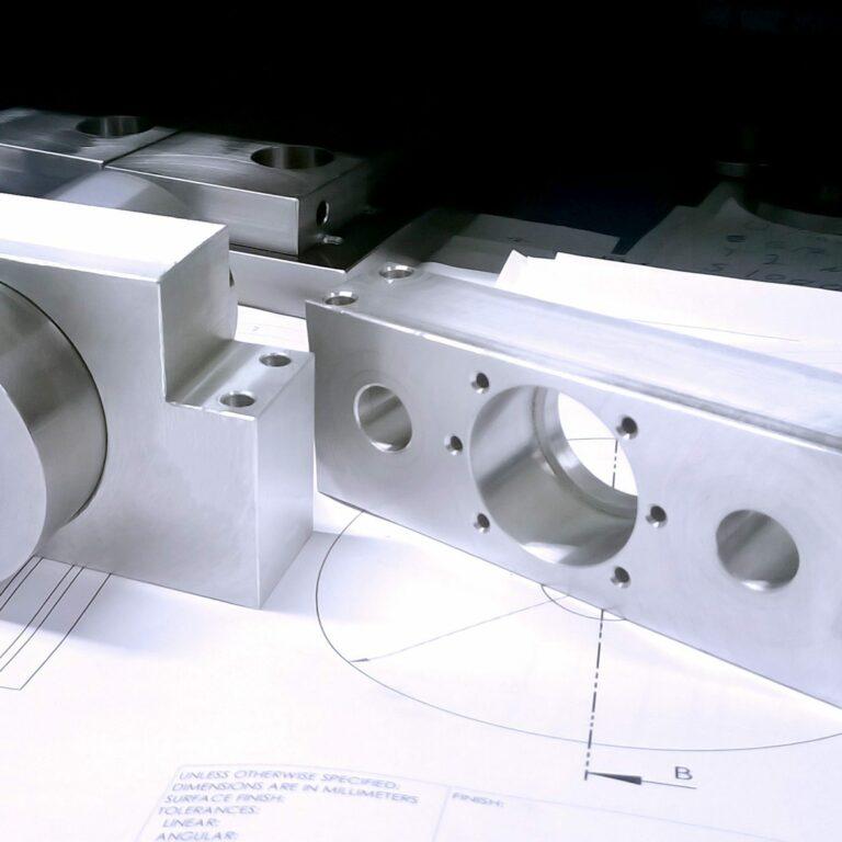 Elementy 3D wydrukowane z metalu