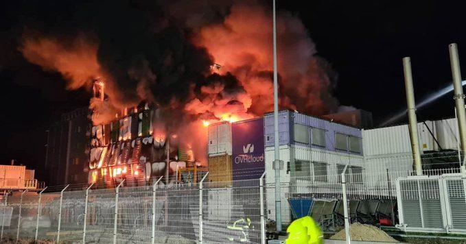 Pożar OVHcloud