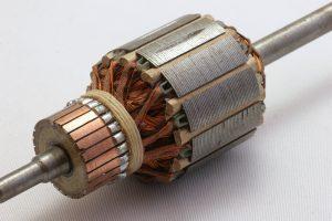 Komutator silnika