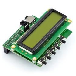 Raspberry Pi Hat - klawiatury i wyświetlacze