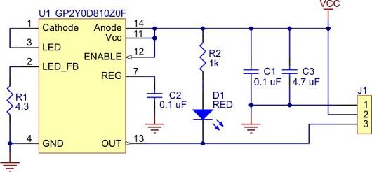 Schemat podstawki PCB