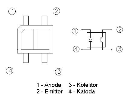 Schemat wyprowadzeń KTIR0711S