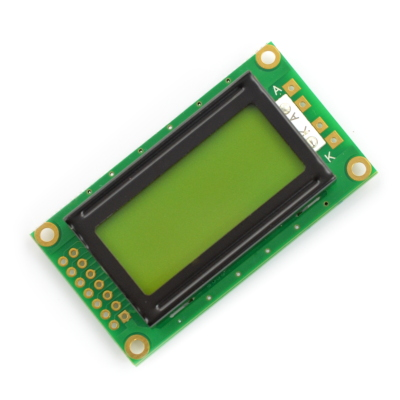 Wyświetlacz LCD 2x8