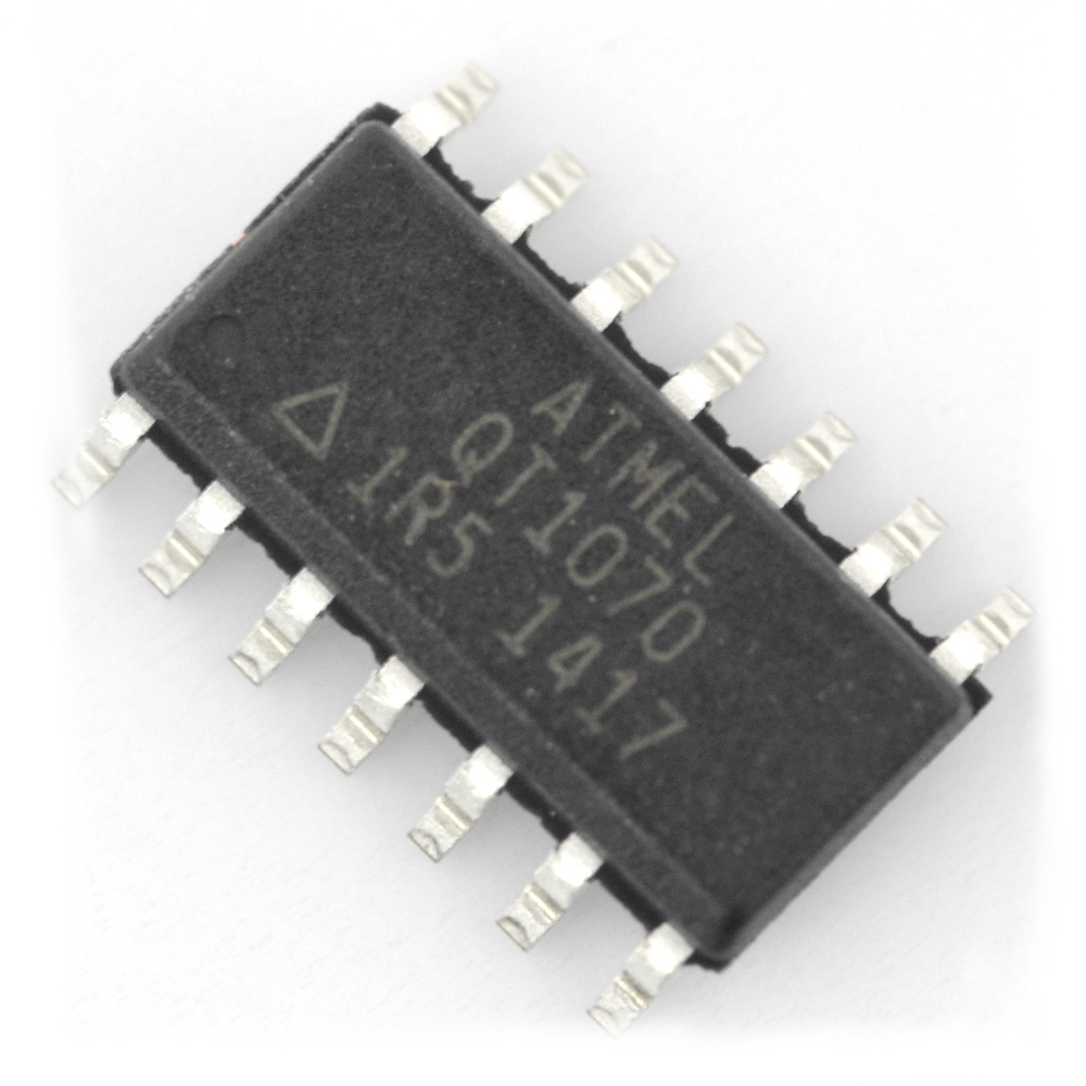 Układ scalony Q-touch AT42QT1070 - SMD.