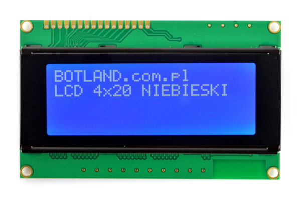 Wyświetlacz LCD 4x20 znaków
