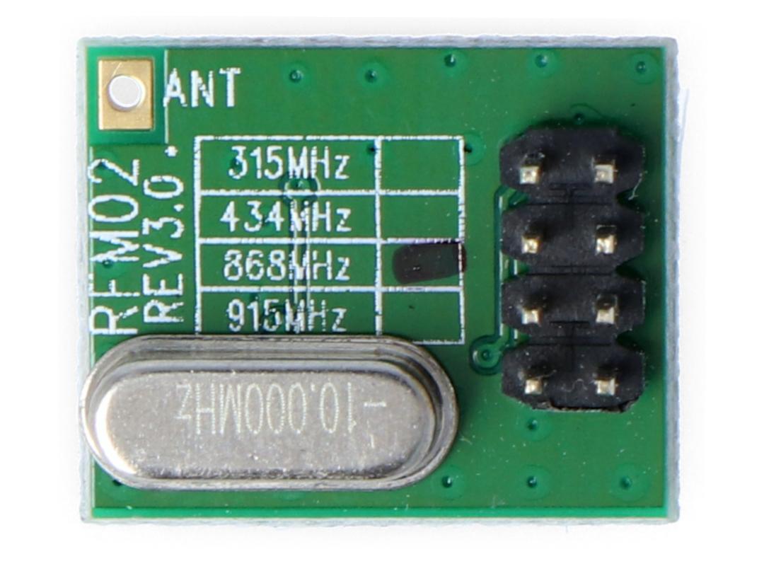 Moduł radiowy RFM02/868D 868MHz