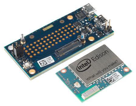 Intel Edison + Mini Breakout Kit