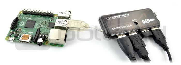 HUB USB 2.0 Esperanza
