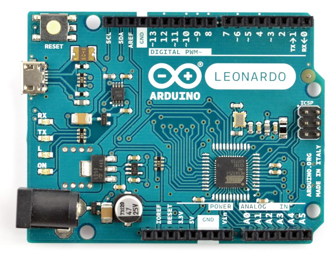 Arduino Leonardo - moduł, platforma