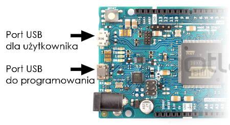 Arduino Due ARM - schemat, układ