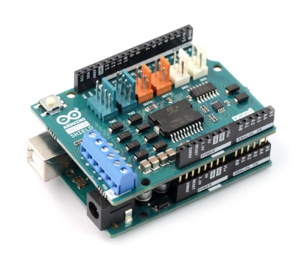 Arduino Motor Shield - platforma, sterownik, nakładka, rozszerzenie