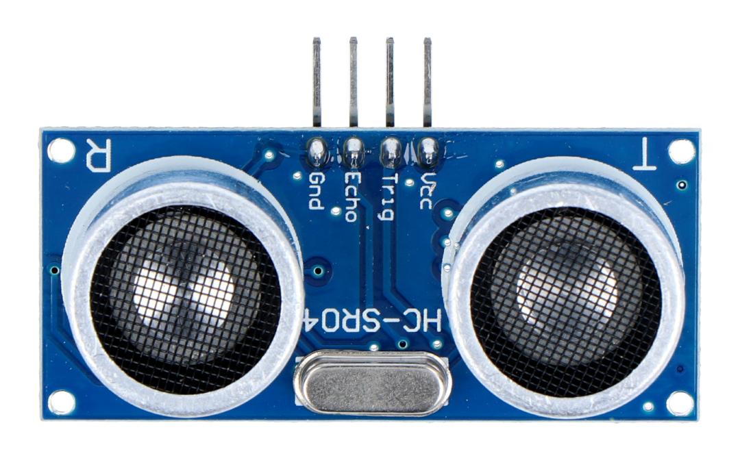 Ultradźwiękowy czujnik odległości HC-SR04