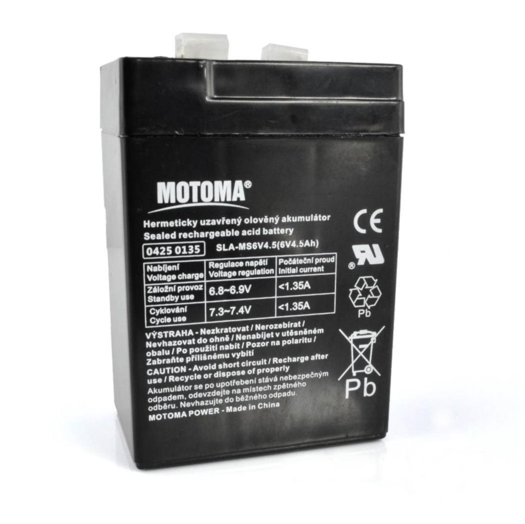 Akumulator żelowy 6 V 4,5 Ah 4