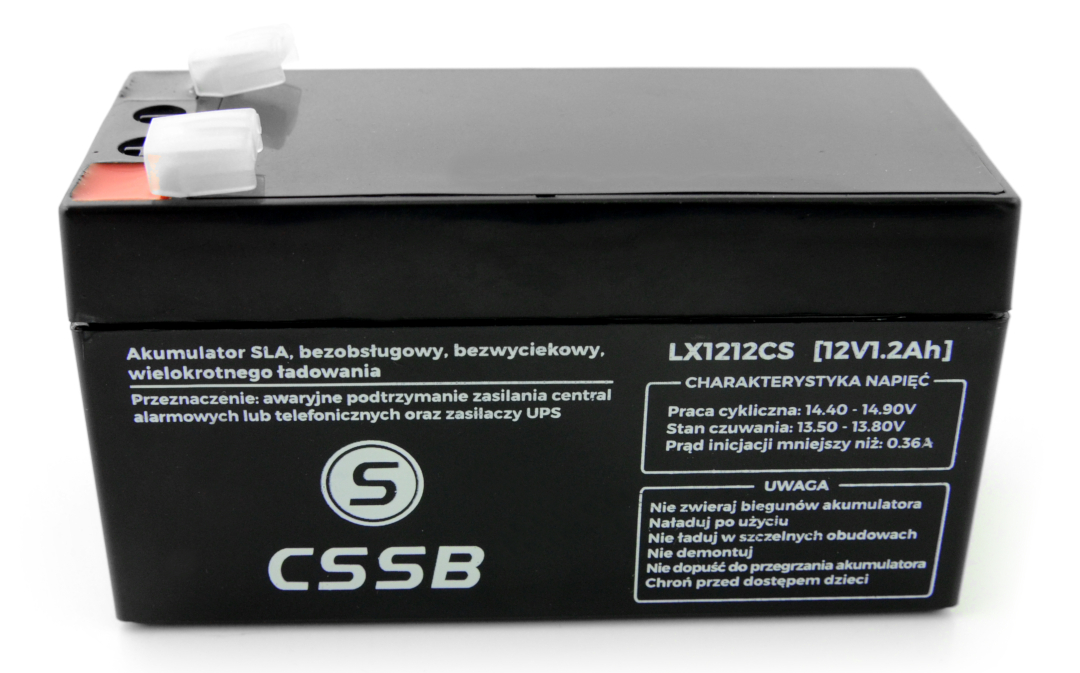 Akumulator żelowy 12 V 1.2 Ah CSSB