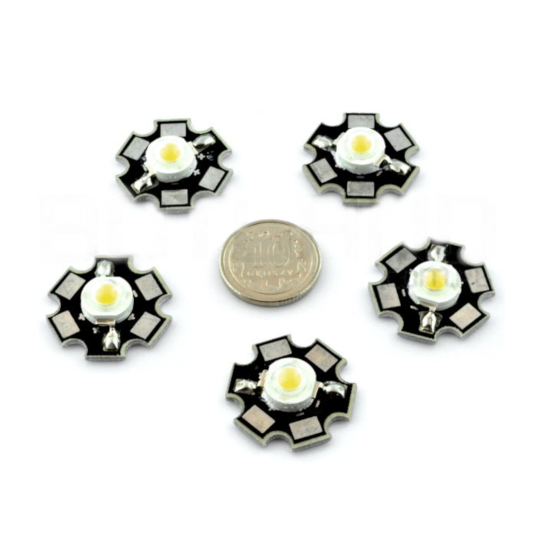 Dioda Power LED Star 1 W