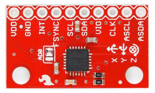 Moduł MPU-6050 - 3-osiowy akcelerometr i żyroskop I2C