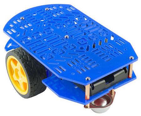 Magician Chassis - podwozie robota dwukołowego