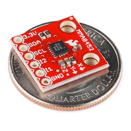 MMA8452Q 3-osiowy akcelerometr cyfrowy I2C