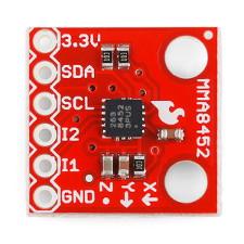 3-osiowy akcelerometr cyfrowy MMA8452Q
