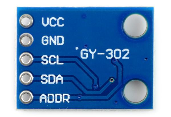 Czujnik natężenia światła BH1750