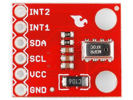 MPL115A2 - cyfrowy barometr, czujnik ciśnienia i wysokości