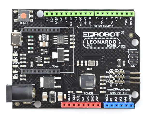 DFRobot Leonardo ze złączem XBee - kompatybilny z Arduino