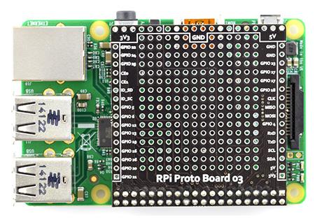 Płytka prototypowa THT - Raspberry Pi 3/2/B+
