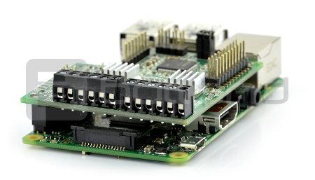 GertBot - sterownik robota Raspberry Pi B+